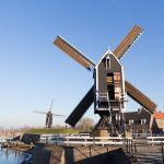 Heusden fotografie windmolen winter 2017