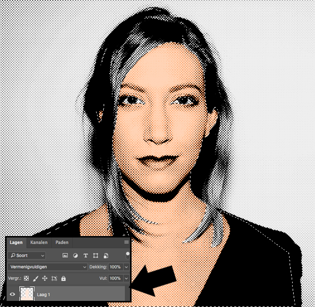 pop-art portret tutorial in photoshop