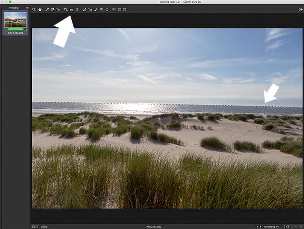 foto bewerken in Camera RAW