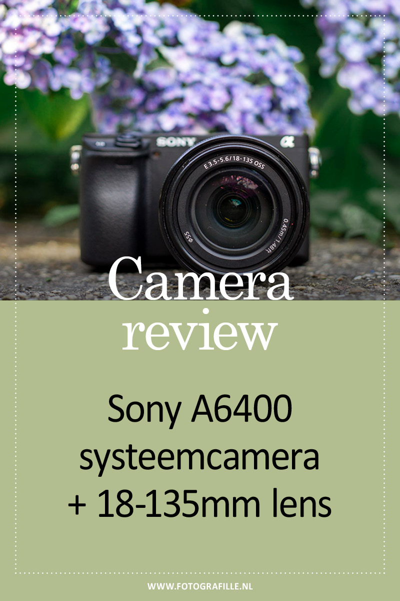 camera review sony A6400
