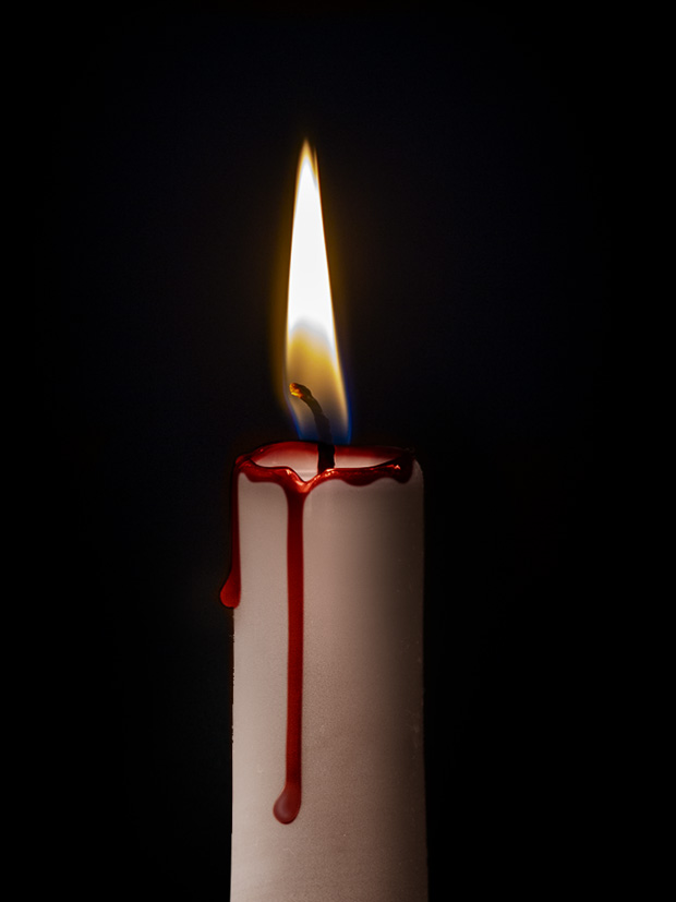 candle photoshop tutorial