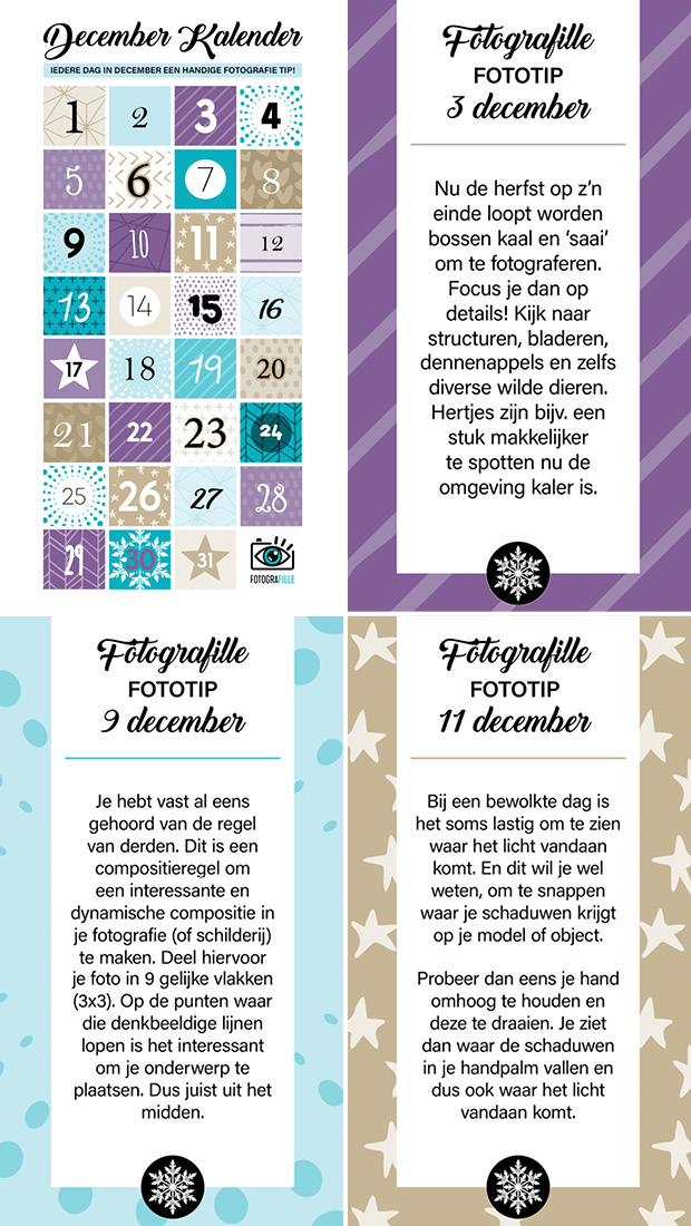 december fotografie tips