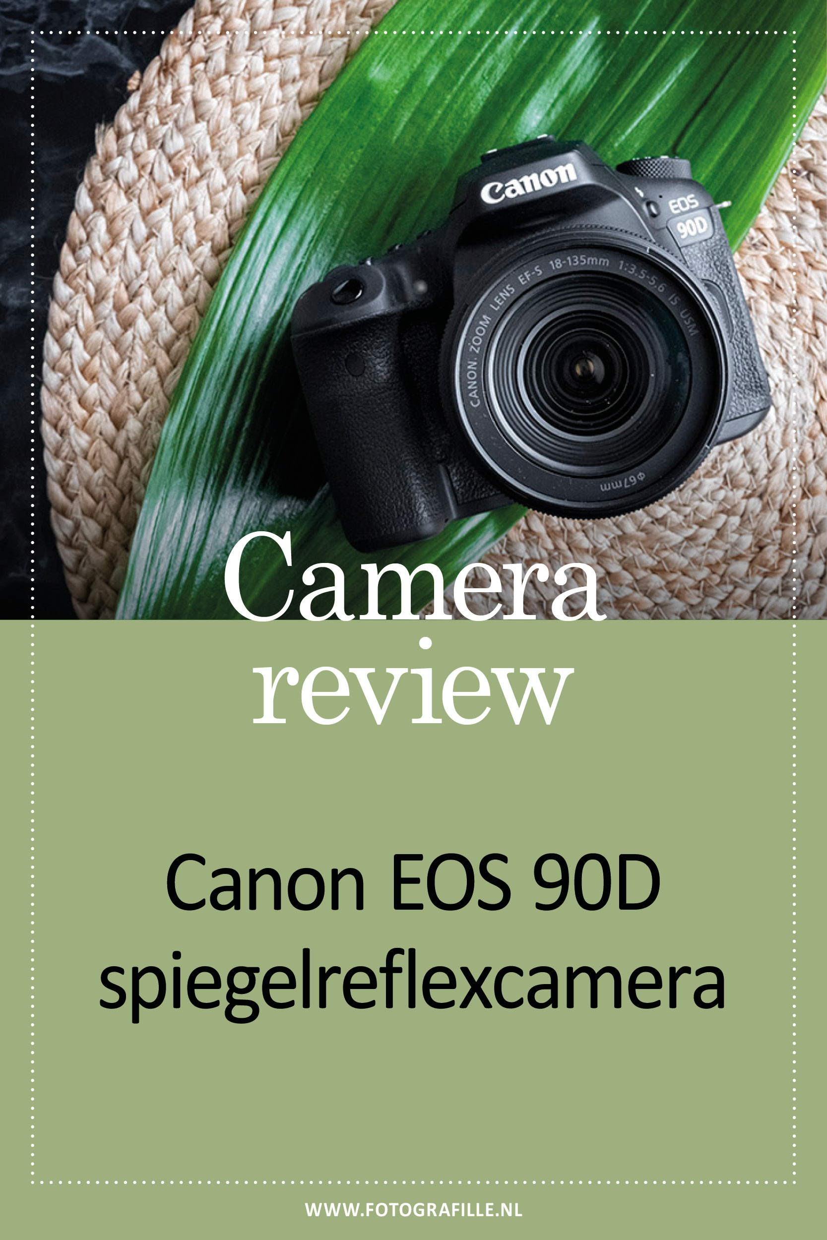 Review canon eos 90D camera